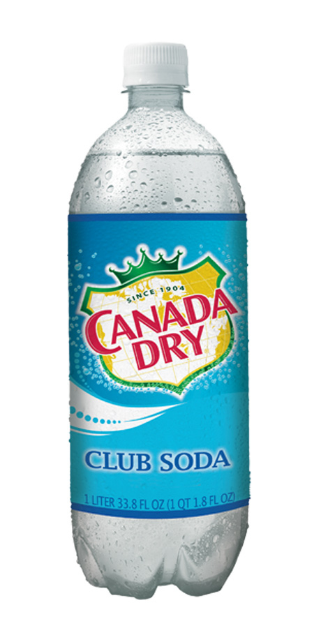 Canada Dry Club Soda Plain sparkling water