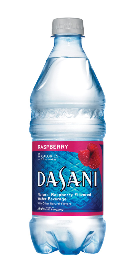 Dasani Flavored Water Lightly flavored spring water
