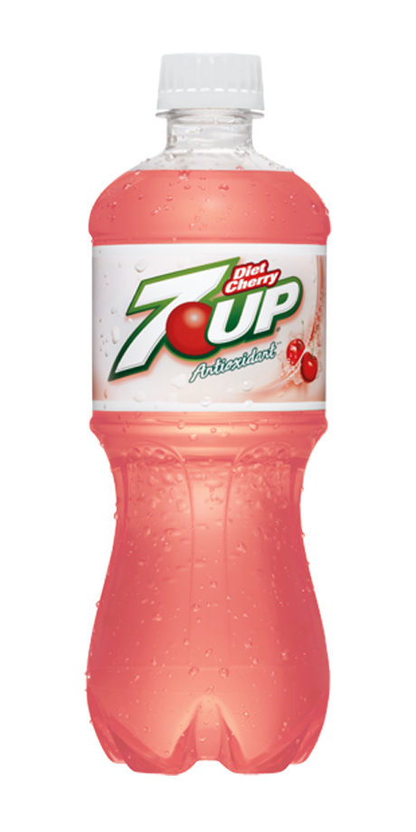 Diet 7UP Antioxidant Cherry flavored, diet soft drink
