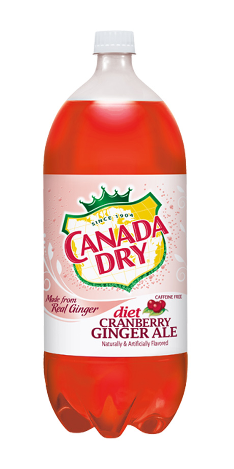 Diet Canada Dry Cranberry Ginger Ale Diet cranberry ginger ale