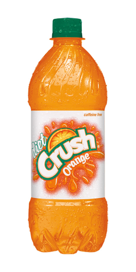 Diet Crush Orange Soda Diet orange flavored soft drink