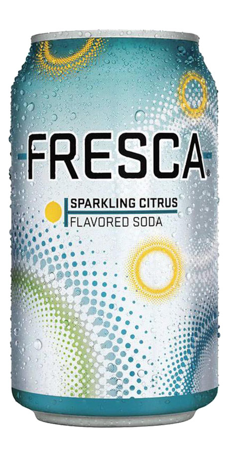 Fresca Low calorie, fruit flavored soda