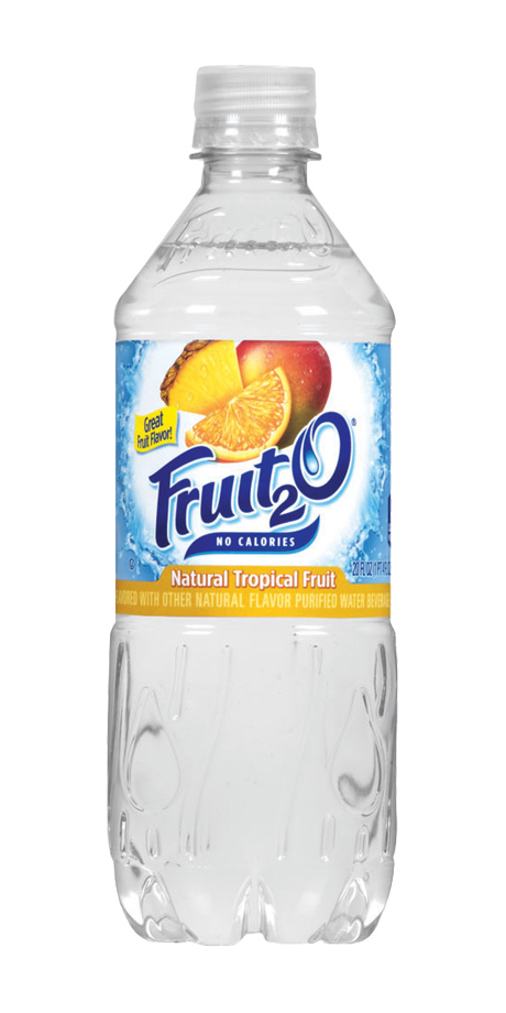 Fruit 2o Essentials Water A lightly flavored, noncarbonated water beverage