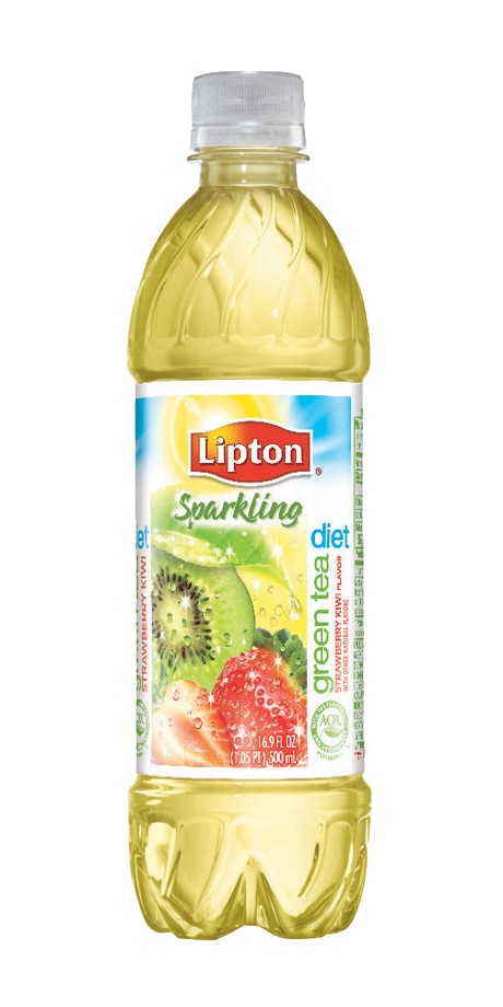 Lipton Sparkling Diet Green Tea No calorie, sparkling, flavored iced green tea