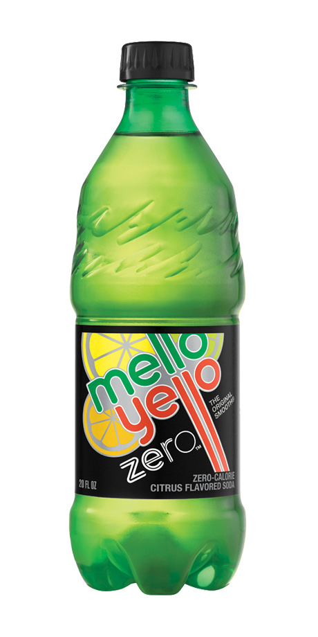 Mello-Yello Zero Citrus flavored soft drink