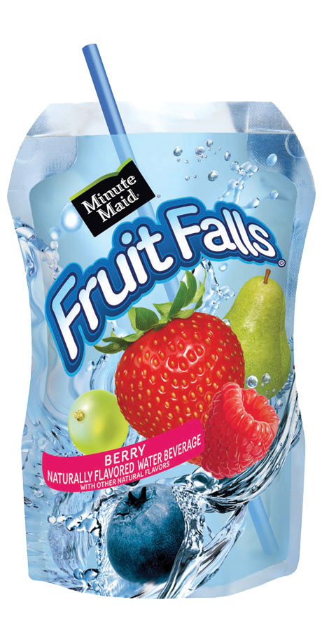 Minute Maid Fruit Falls Flavored water beverage