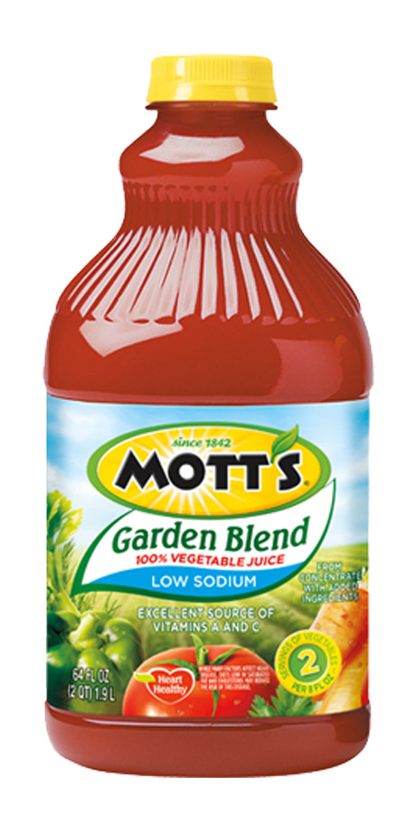 Mott's Garden Blend 100% Vegetable Juice - Low Sodium 100% vegetable juice
