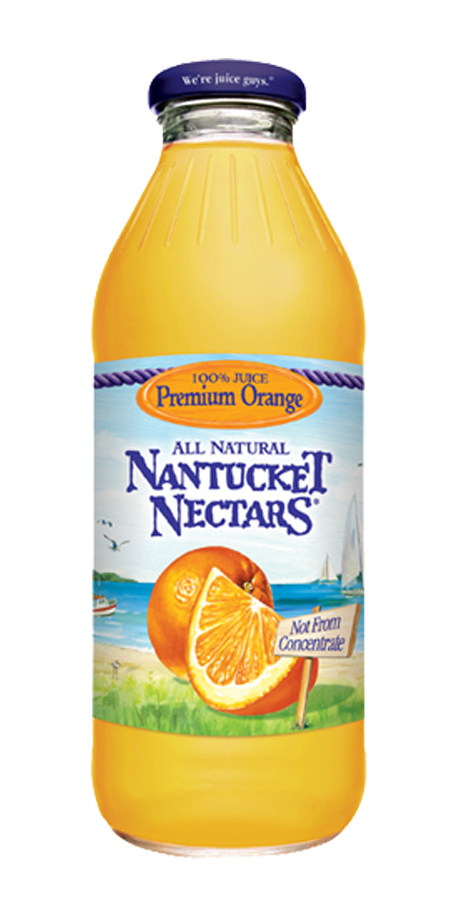 Nantucket Nectars Orange Juice 100% orange juice