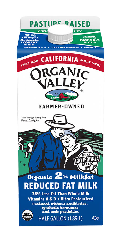 Organic Valley Ultra-Pasteurized 2% Reduced Fat Milk