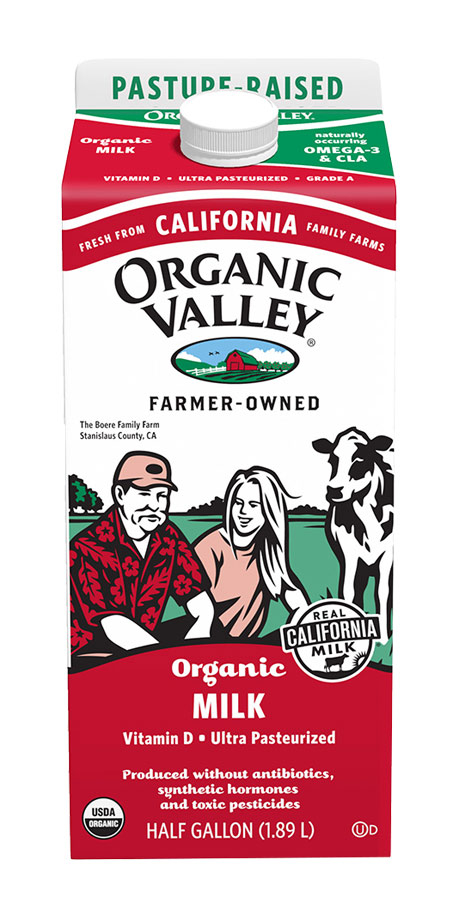 Organic Valley Ultra-Pasteurized Whole Milk