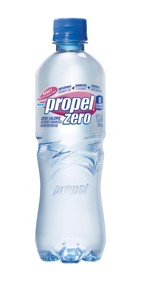 Propel Zero Bottled water or powder to enhance water