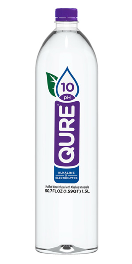 Qure 10 pH Alkaline Water