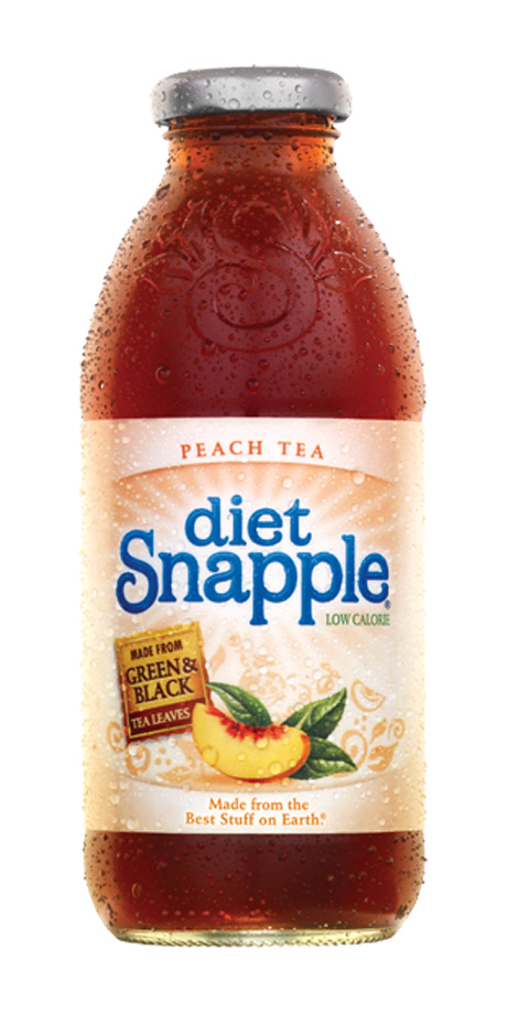 Snapple Diet Low calorie Snapple tea