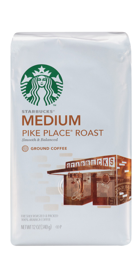 Starbucks Decaf Pike Place Roast A smooth, balanced brew from a specialty blend of decaffeinated coffees