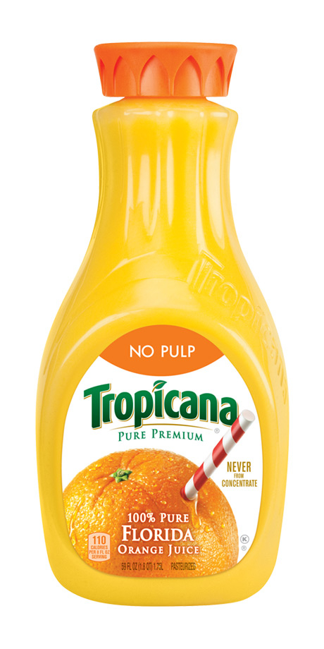 Tropicana Orange Juice No Pulp 100% fruit juice