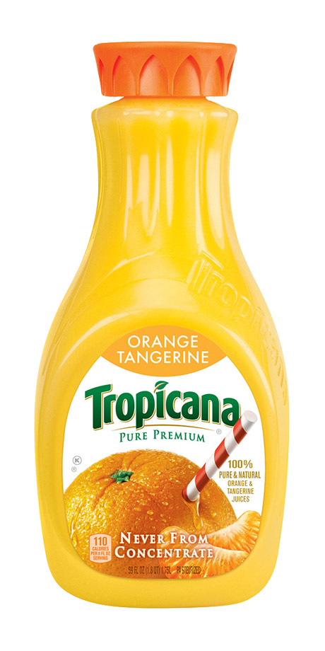 Tropicana Orange Tangerine Juice 100% fruit juice