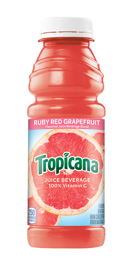Tropicana Ruby Red Grapefruit Juice 100% fruit juice