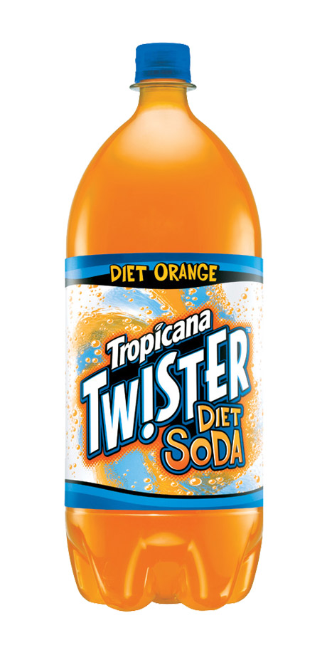 Tropicana Twister Diet Orange Diet orange flavored soft drink